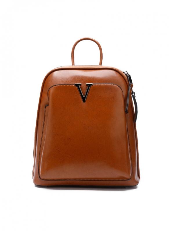 Сумка-рюкзак женская Vici, коричневый